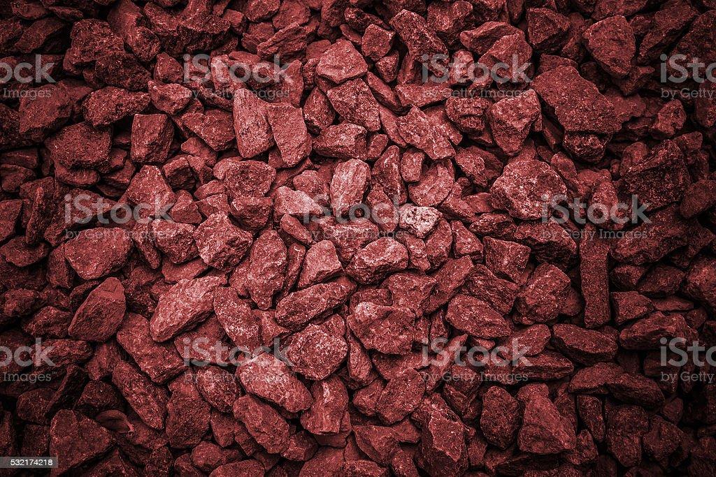 gravel,crushed stone stock photo