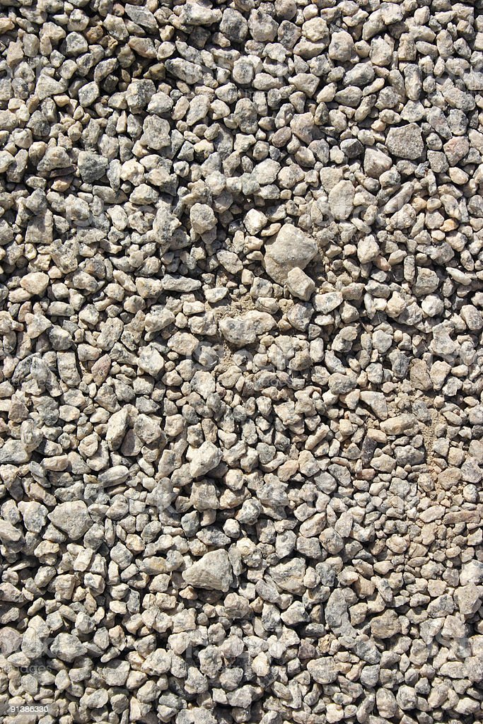 Gravels royalty-free stock photo