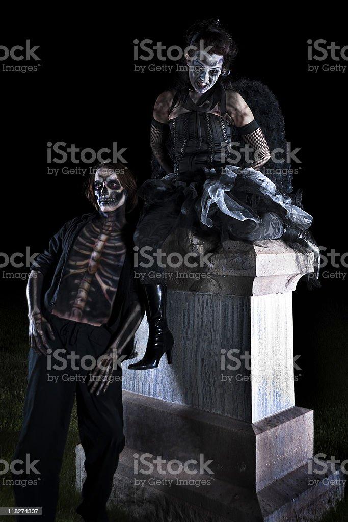 Graveyard Dating royalty-free stock photo