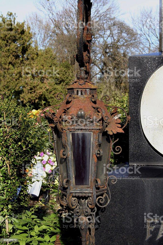 Graveyard Detail stock photo