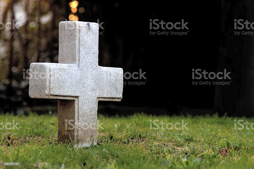 Graveyard royalty-free stock photo