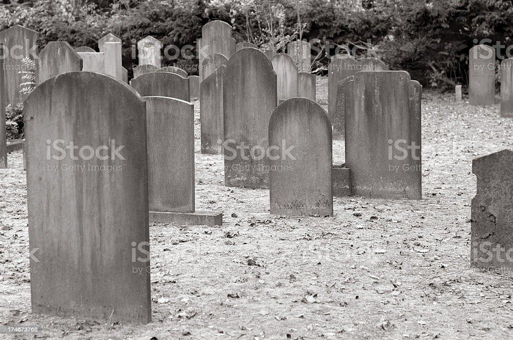 Graveyard royalty-free stock photo