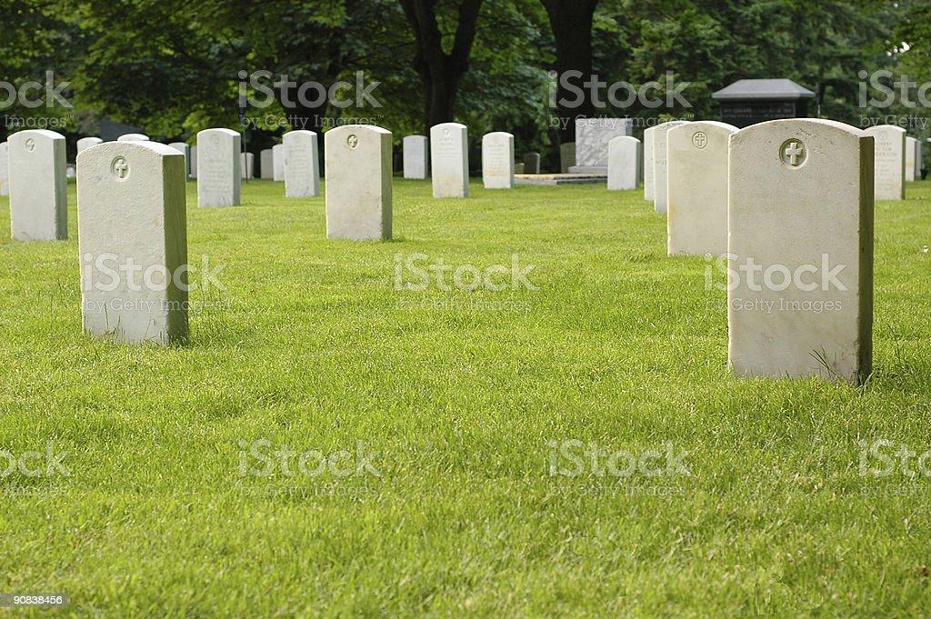 Graveyard (series) stock photo
