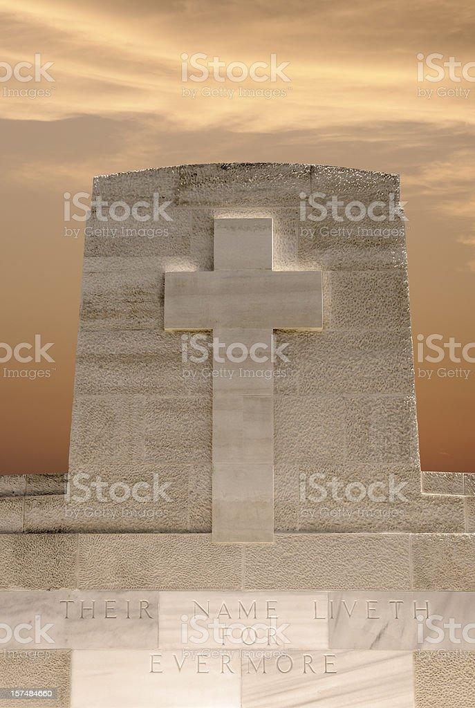 Graveyard Stone royalty-free stock photo