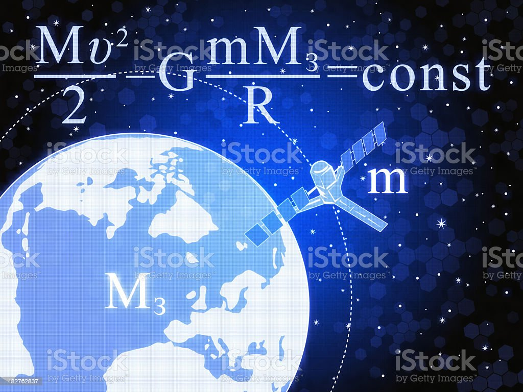 Gravitation royalty-free stock photo