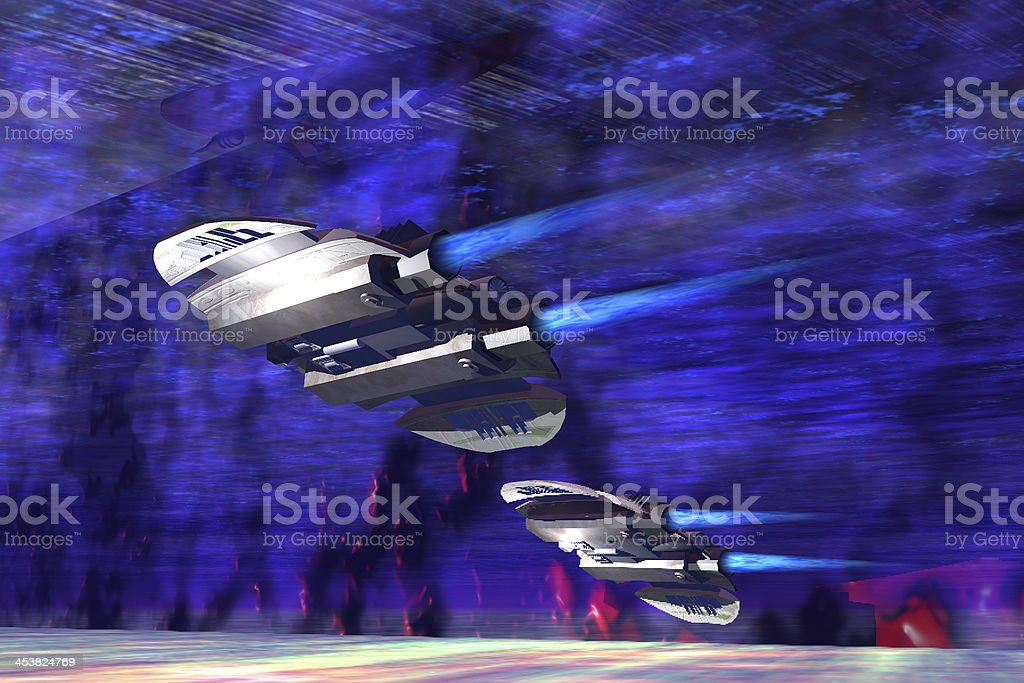 Gravitational Forces stock photo