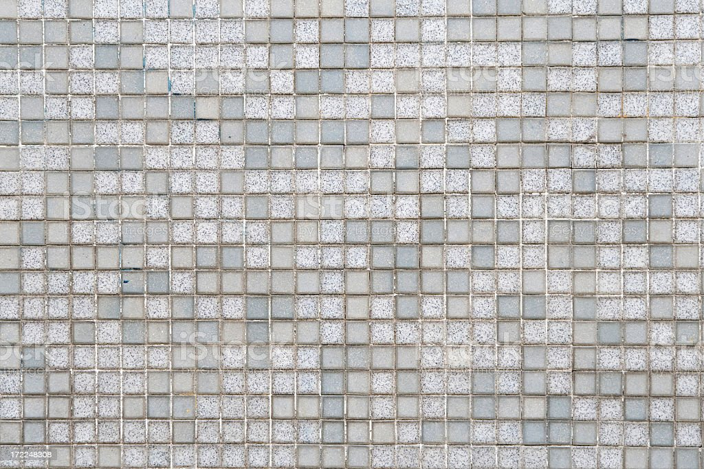 A gray and white tile background stock photo