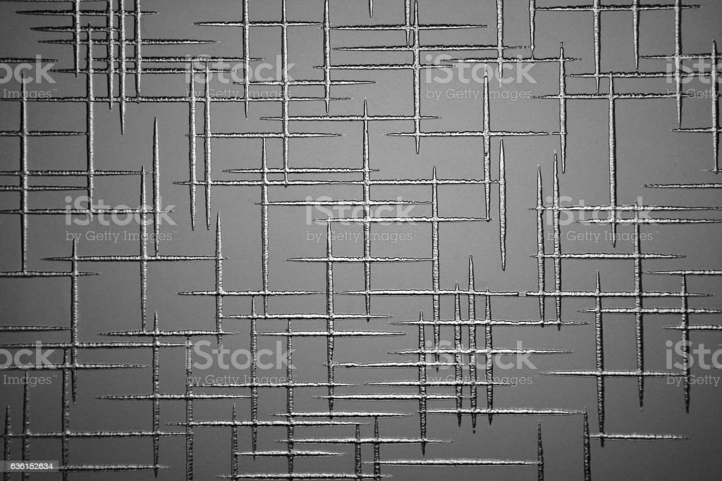 gray background with geometric pattern stock photo