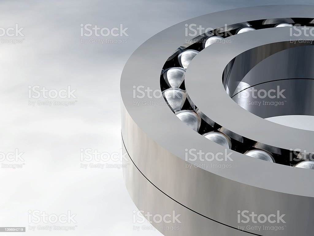 gray bearing royalty-free stock photo