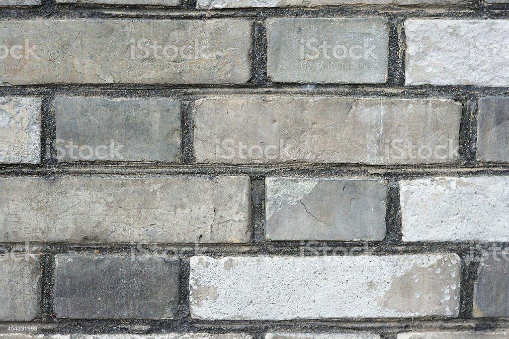 Gray Brick Wall royalty-free stock photo