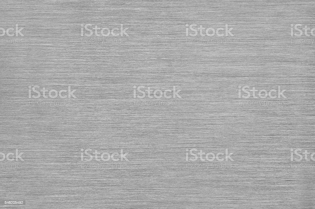 Gray Brushed Metal Texture Background - Steel or Aluminium stock photo