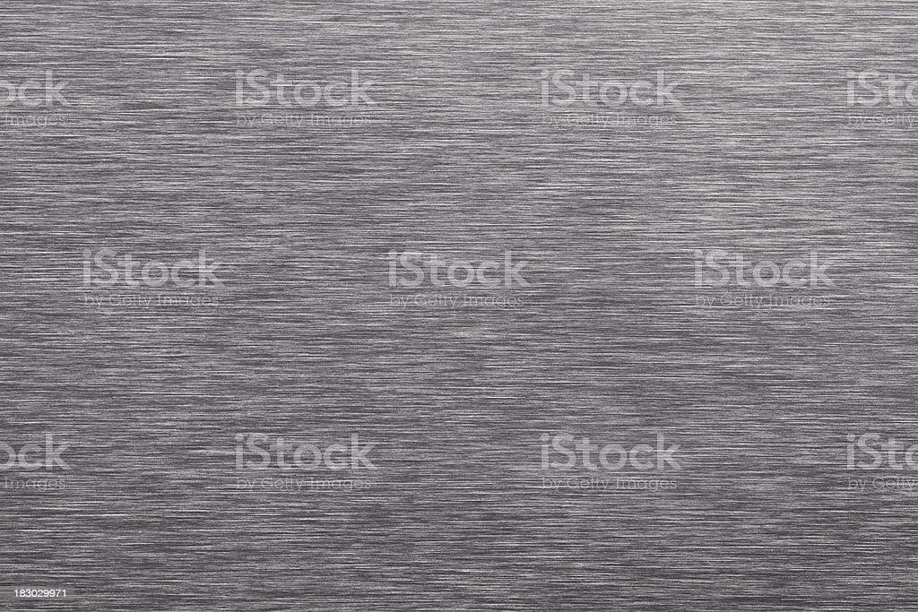Gray Brushed Sheet Metal Background royalty-free stock photo