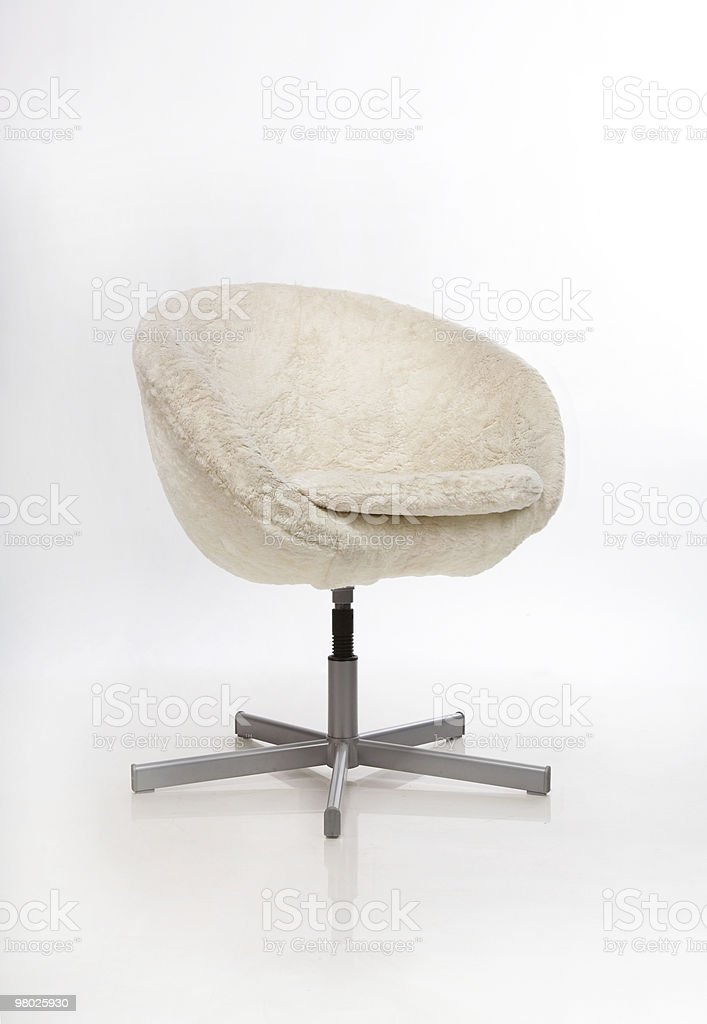 gray chair royalty-free stock photo