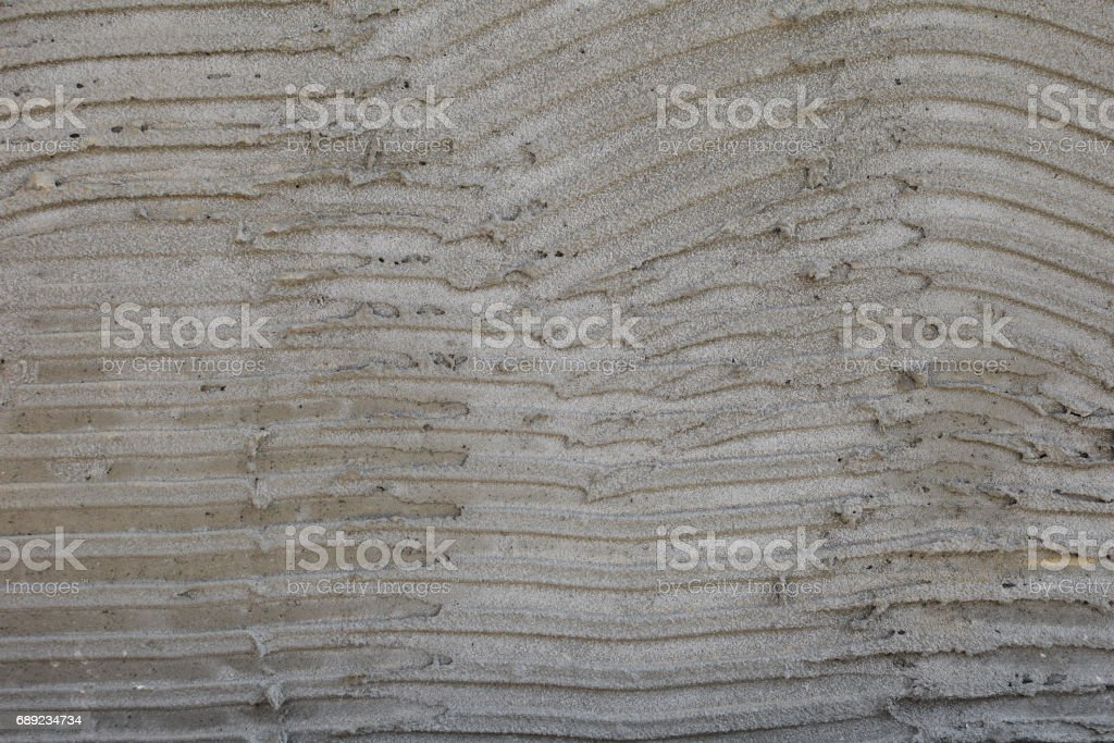 Gray coarse concrete texture for archiviz. stock photo