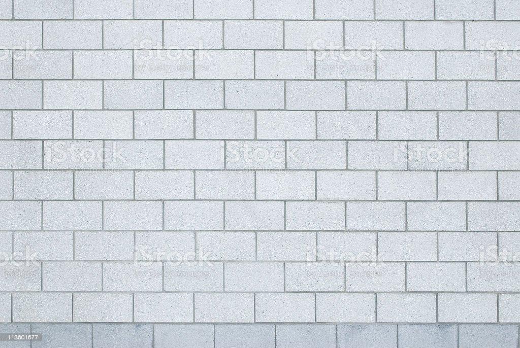 gray concrete block wall stock photo