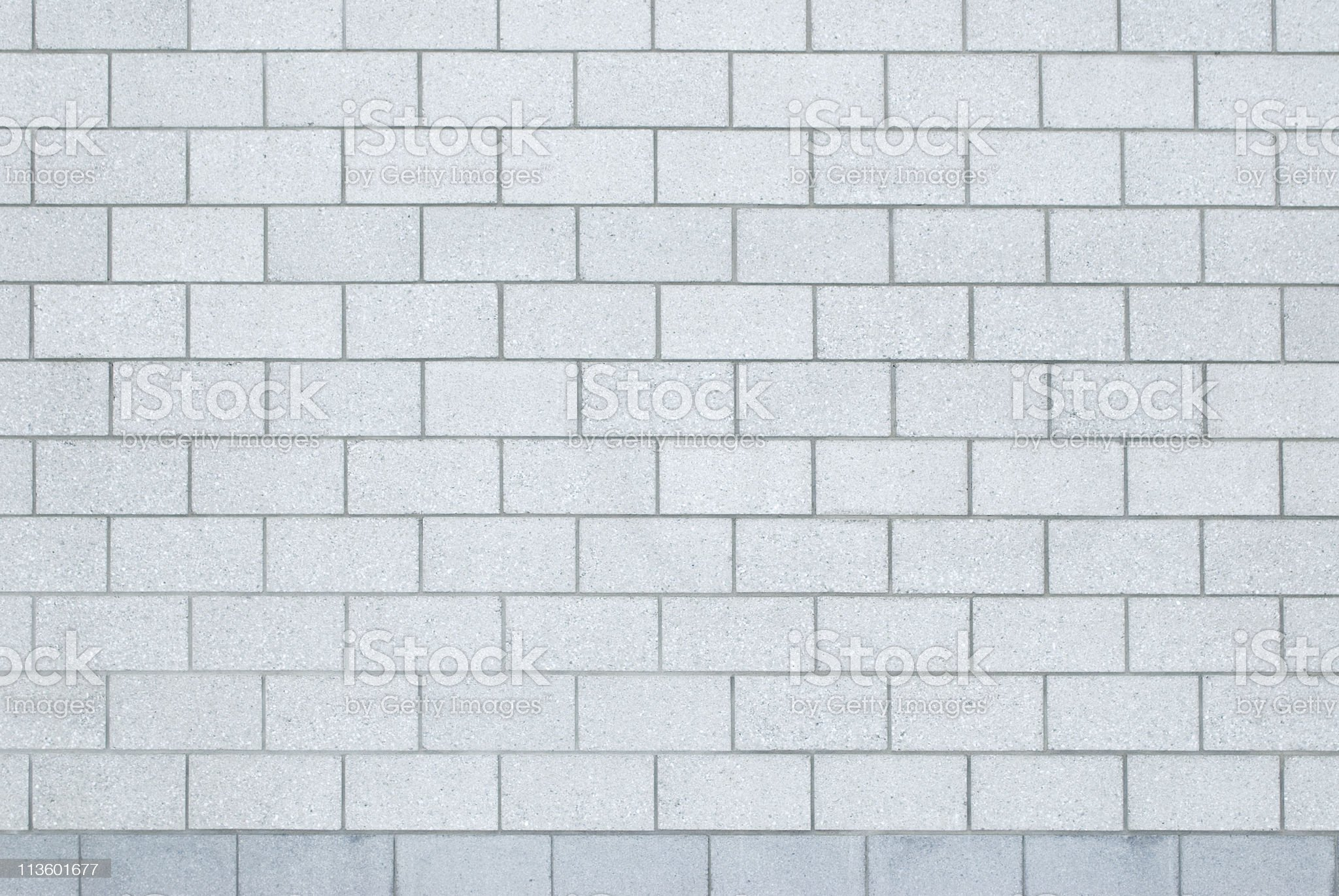 gray concrete block wall royalty-free stock photo