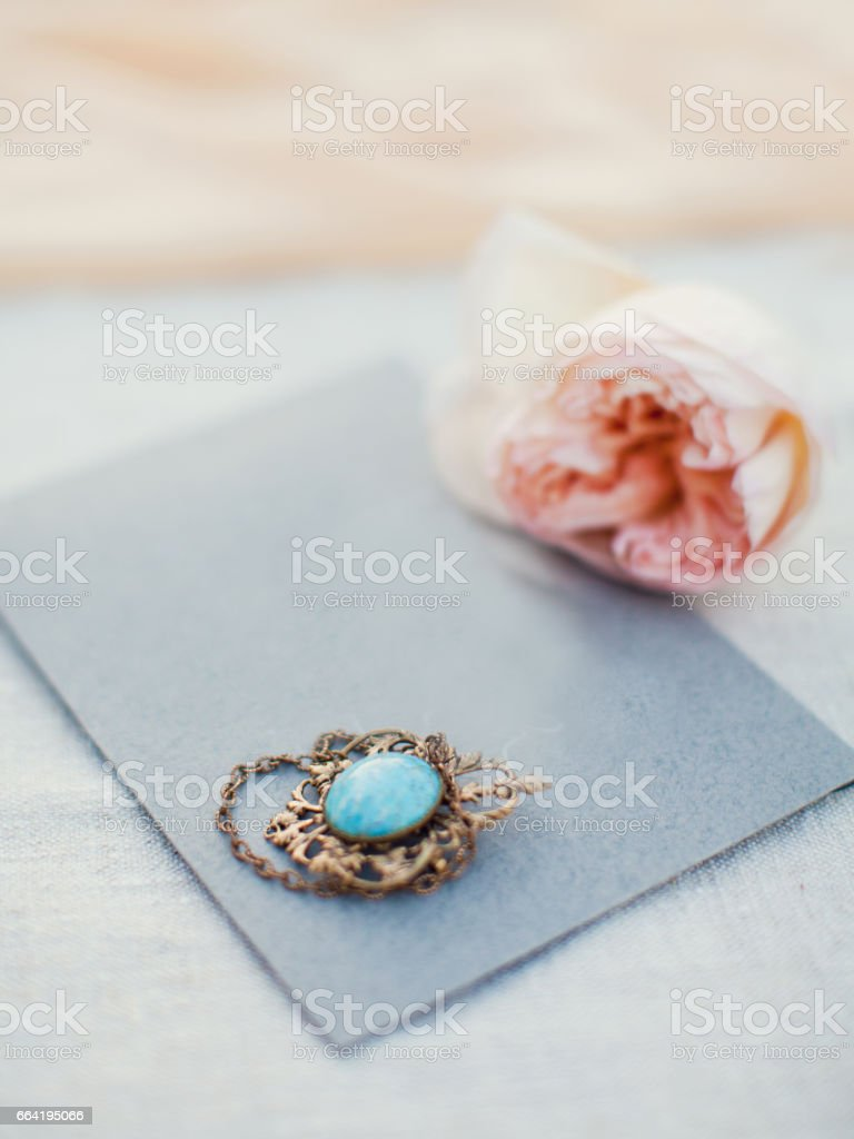 gray envelope stock photo