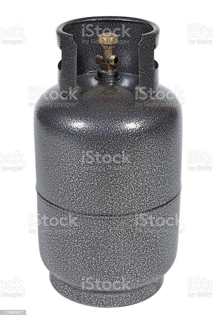 Gray gas balloon stock photo