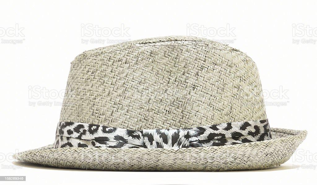 Gray hat stock photo