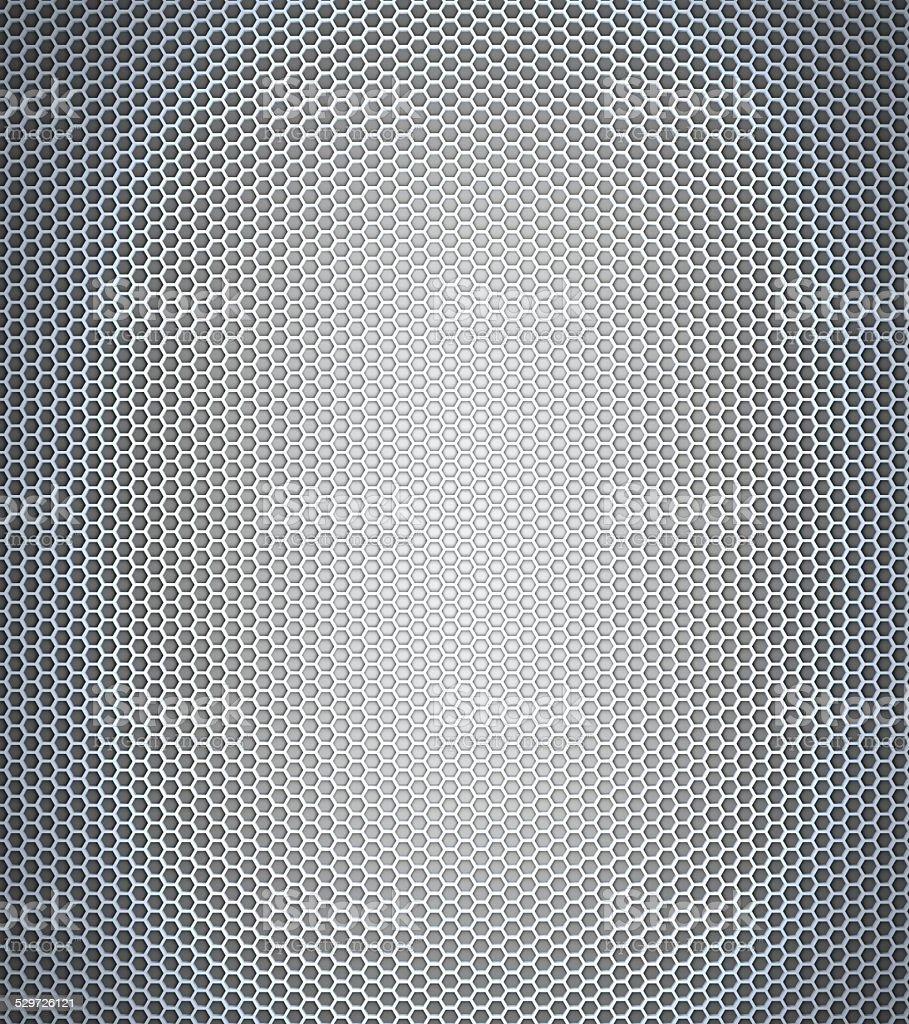 Gray honeycomb stock photo