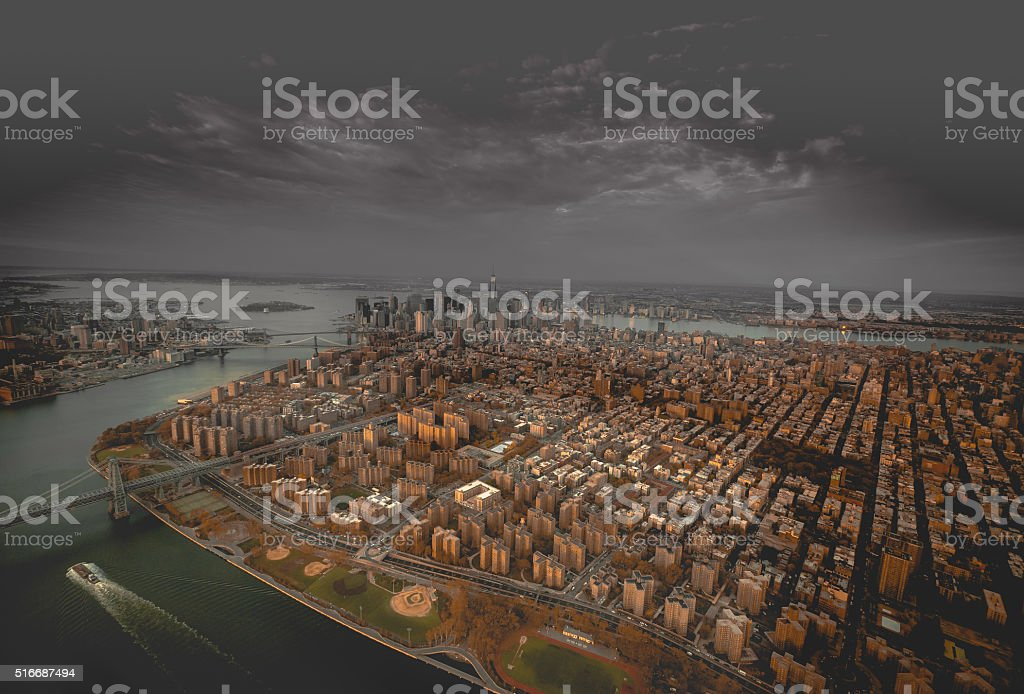 Gray in NYC stock photo