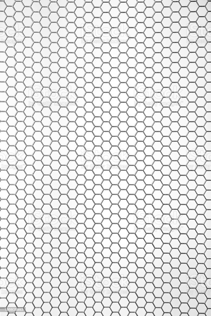 80% Gray Industrial Mesh for Security and Ventilation stock photo