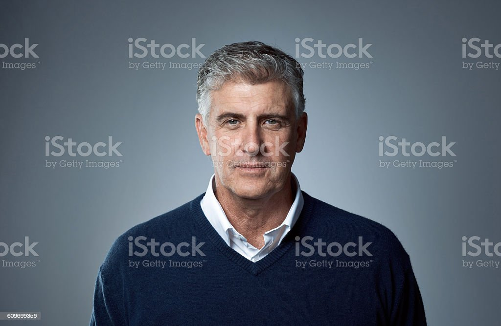 Gray is the new black stock photo