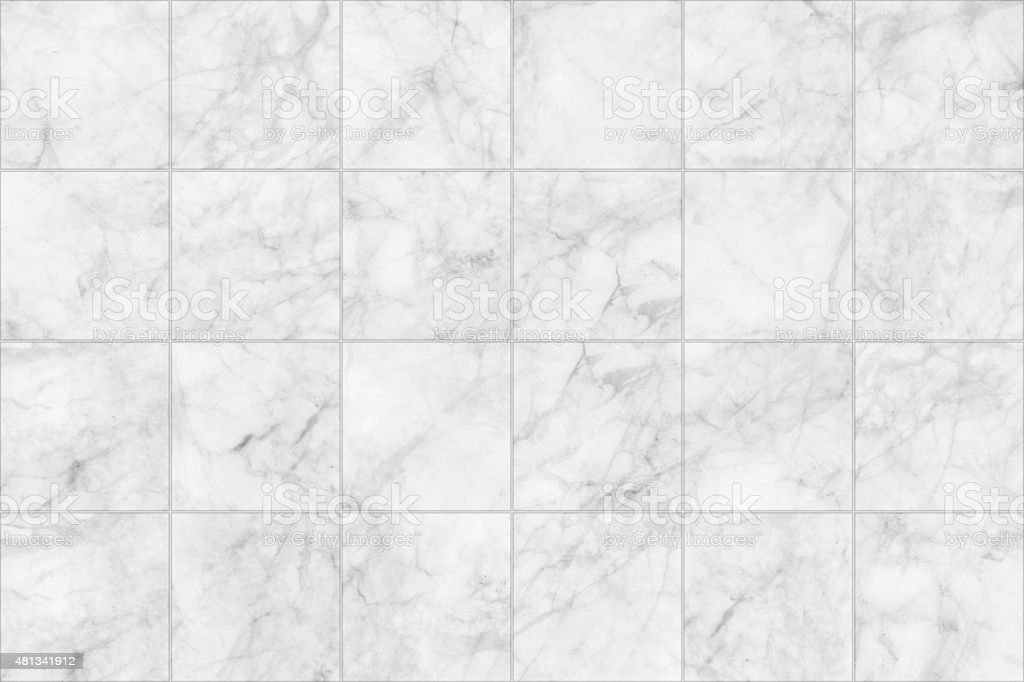 Gray marble tiles seamless floor texture for design. stock photo