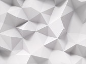 Gray polygonal background