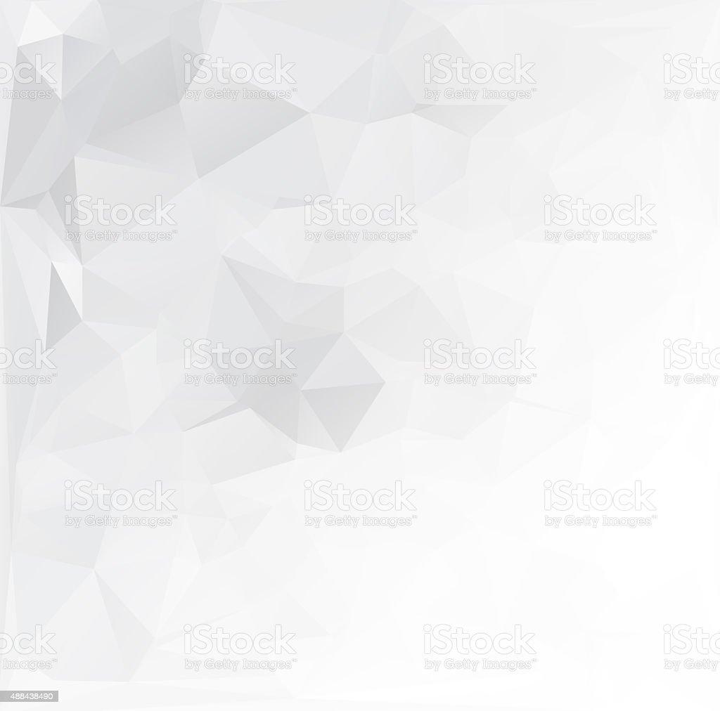 Gray Polygonal Mosaic Background, Creative Design Templates stock photo