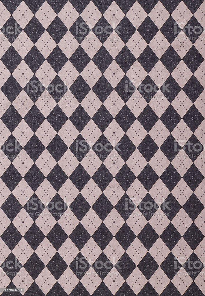 Gray Purple Tile Background With Argyle Pattern stock photo