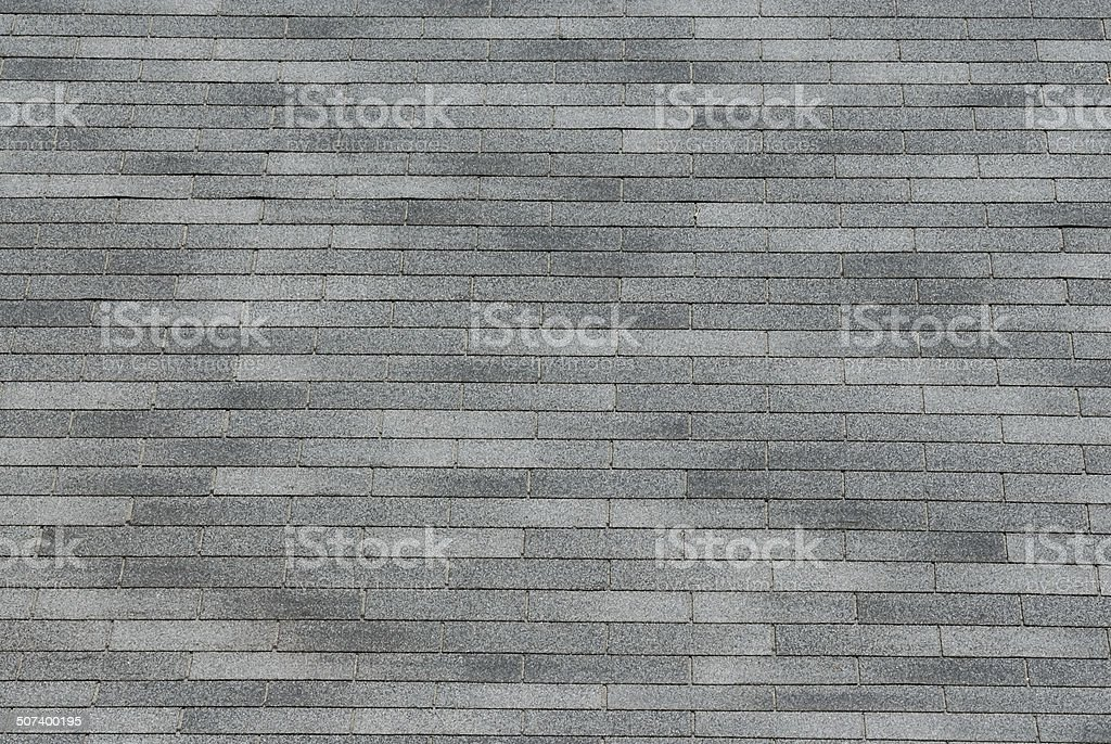 Gray shingle background texture stock photo