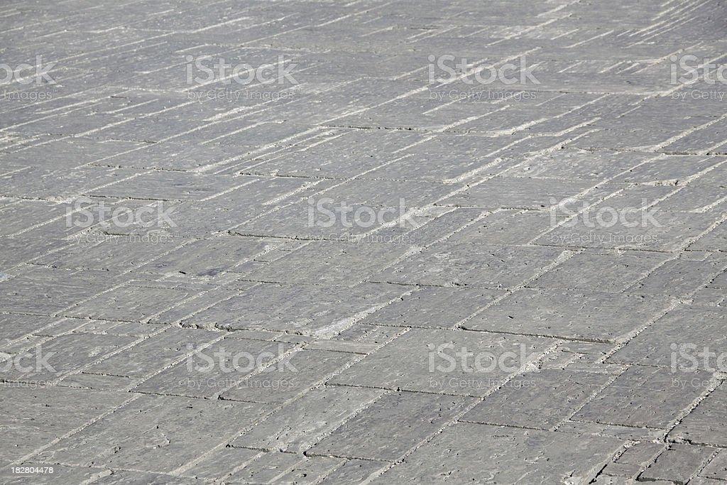 gray smooth stone way royalty-free stock photo