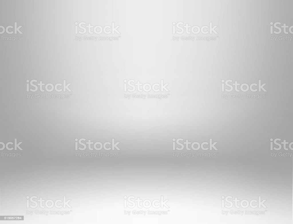 Gray spotlight background stock photo