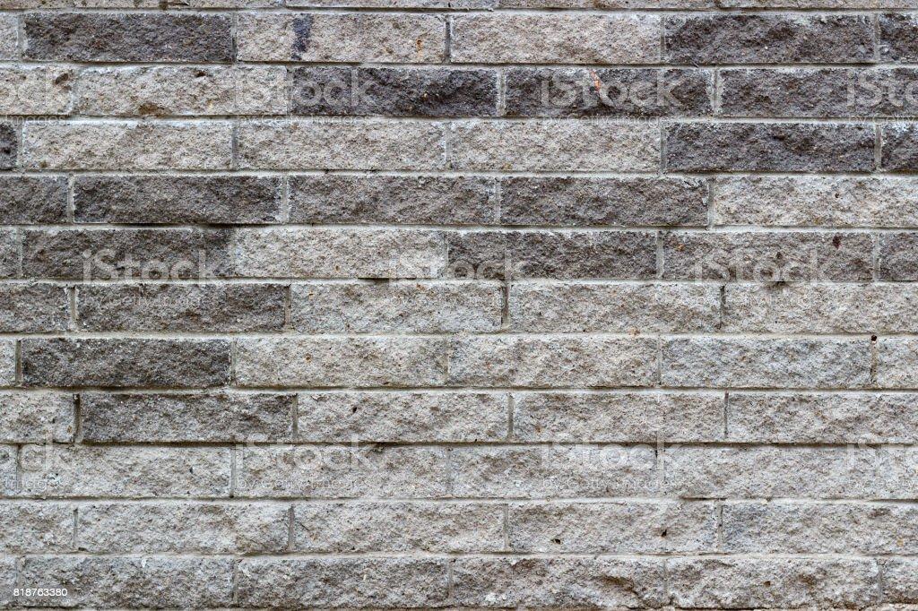 Gray stone bricks wall texture. Abstract stone brick background stock photo
