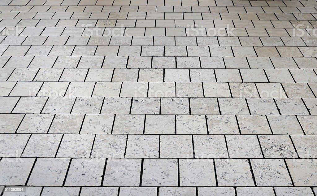 Gray stone floor tile as a texture stock photo