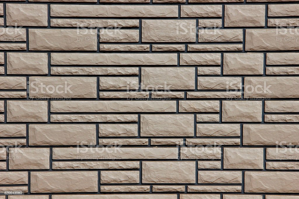 Gray stone wall stock photo