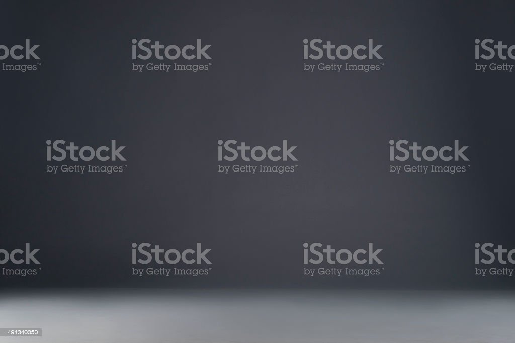 Gray studio background stock photo