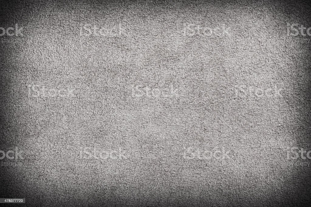Gray suede texture background stock photo