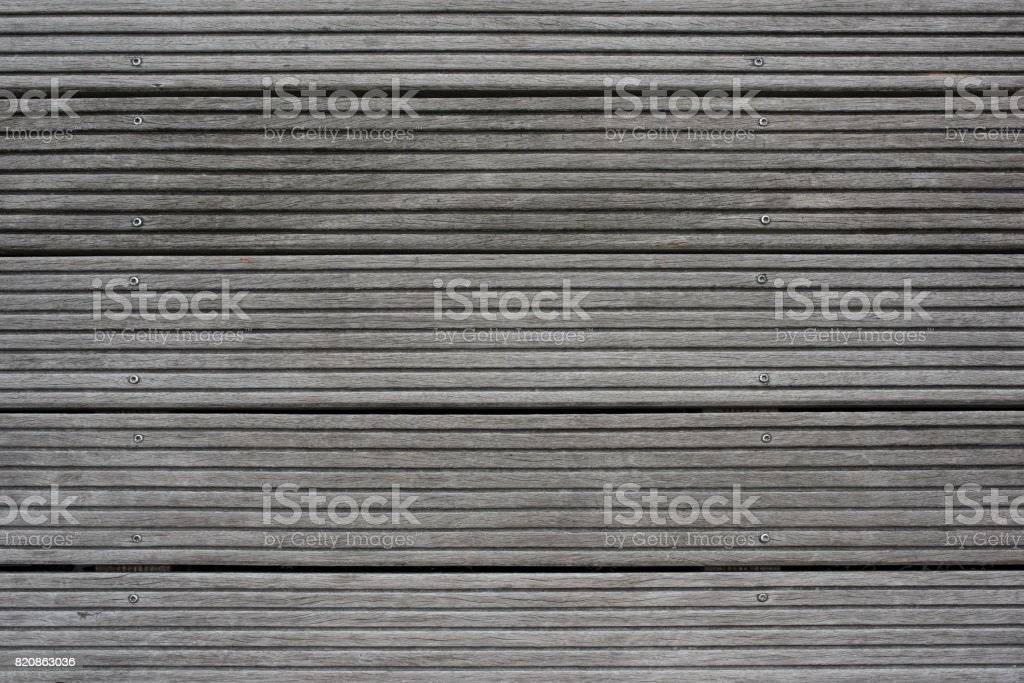 Gray wooden boards background stock photo