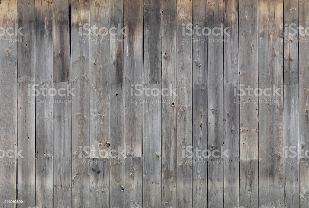 Gray wooden wall texture stock photo