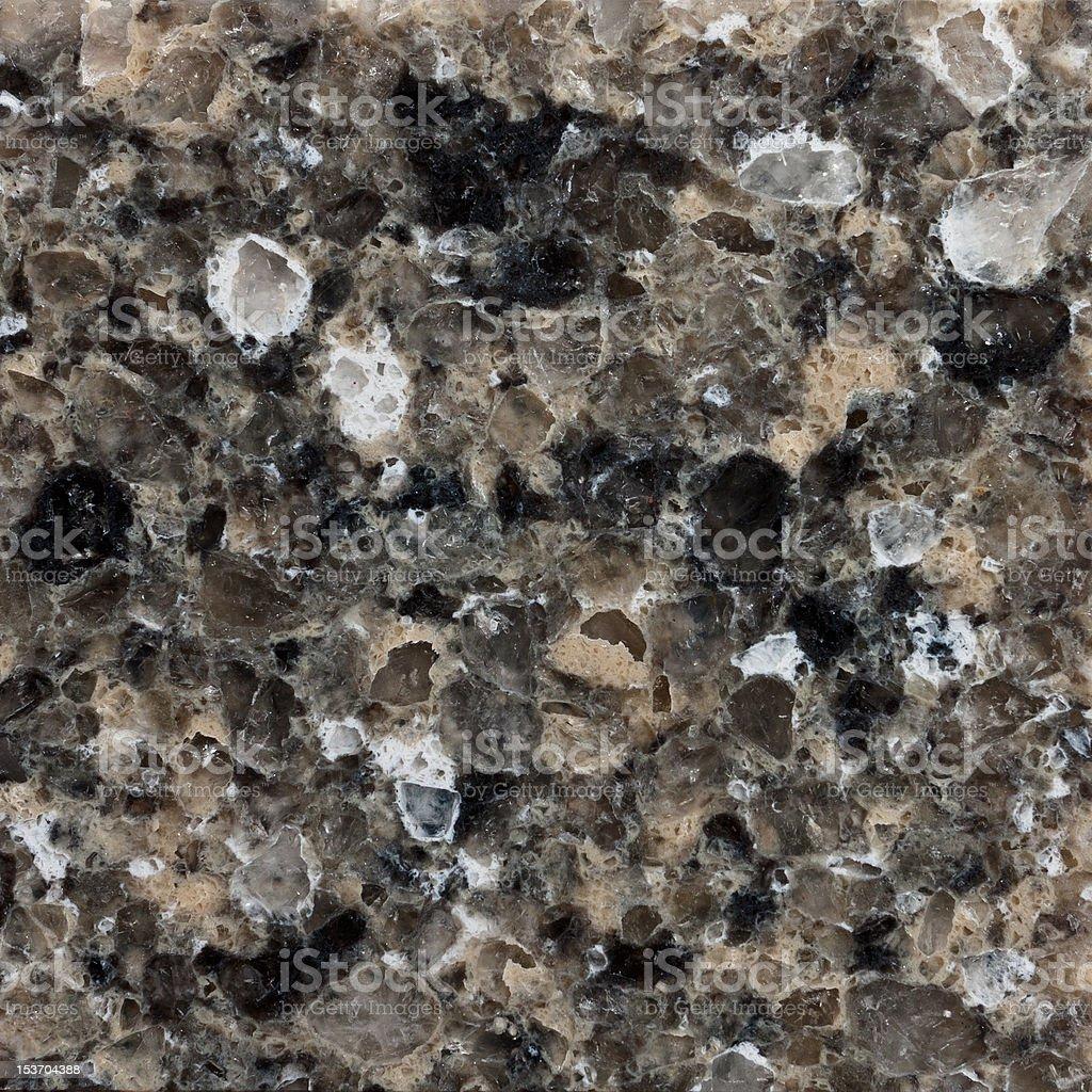 Grayish Black Quartz Slab stock photo