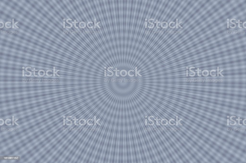 Grayscale grace. radial pattern G. royalty-free stock photo