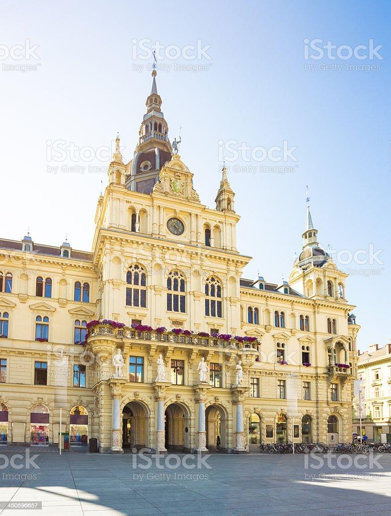 Graz hall town, Austria royalty-free stock photo
