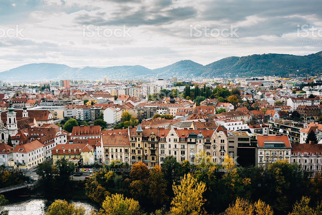 Graz stock photo