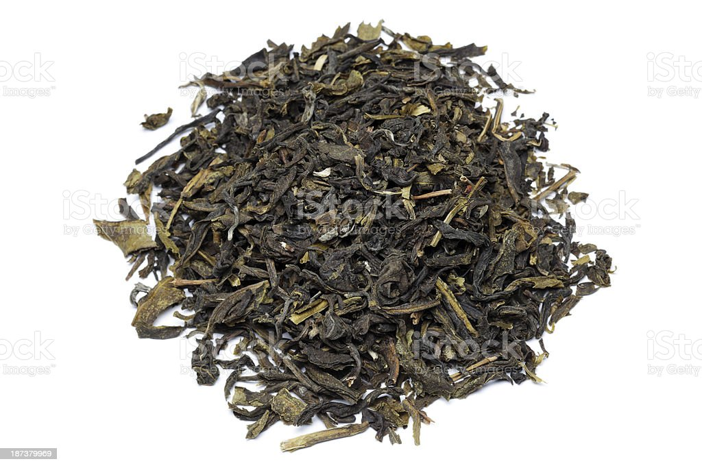 Grean tea with jasmine royalty-free stock photo