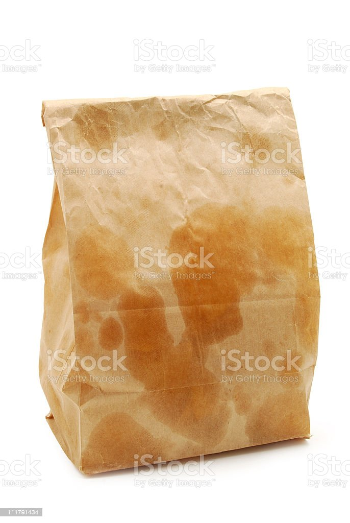 Greasy Lunch stock photo