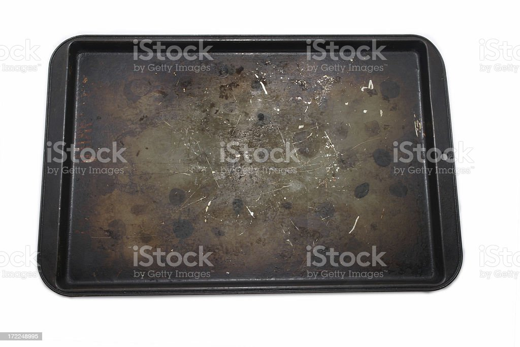 Greasy Pan royalty-free stock photo