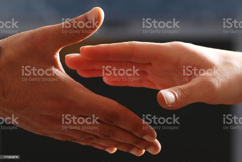 Great agreement royalty-free stock photo