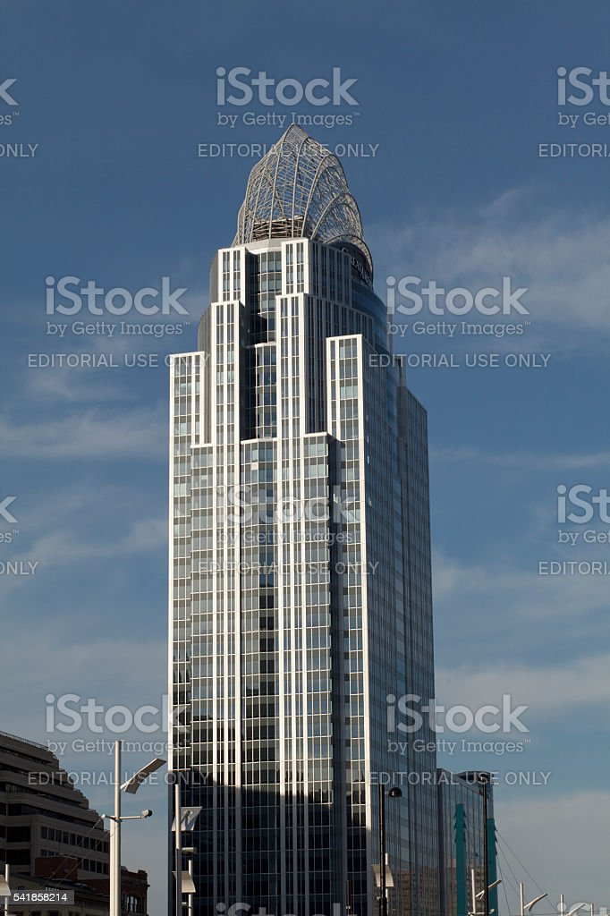Great American Tower stock photo